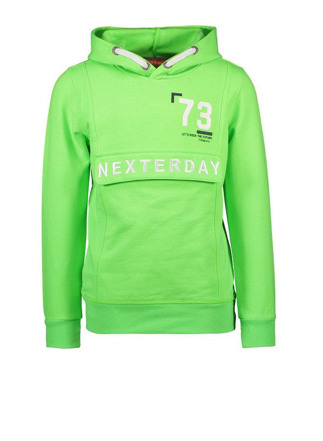 Tygo & vito - Neon Hoody Nexterday - Green Gecko