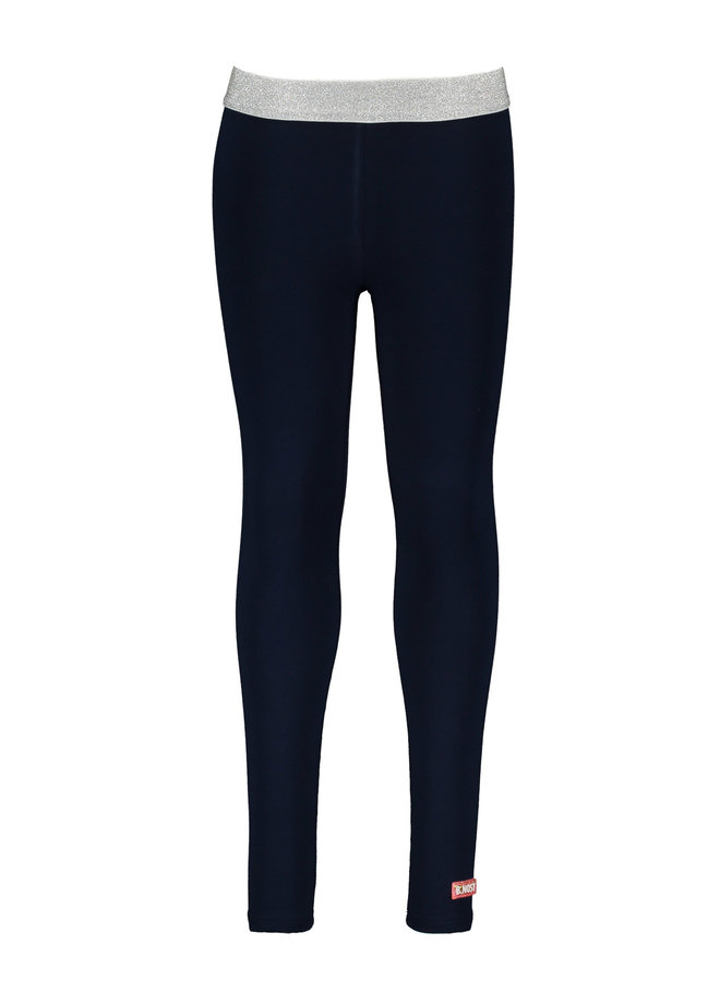 B.Nosy - Plain Legging - Space Blue