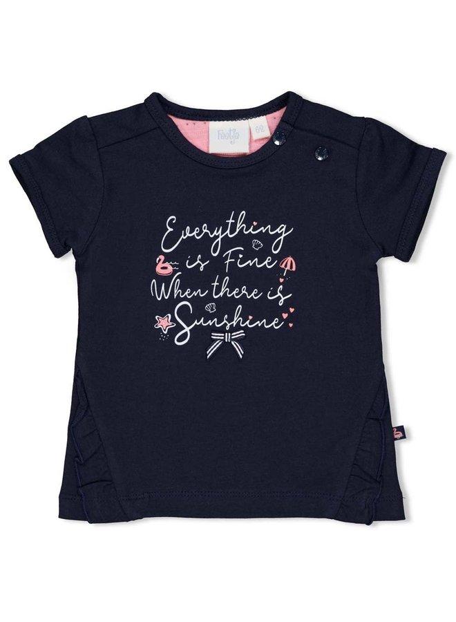 Feetje - T-shirt Everything Marine - Seaside Kisses