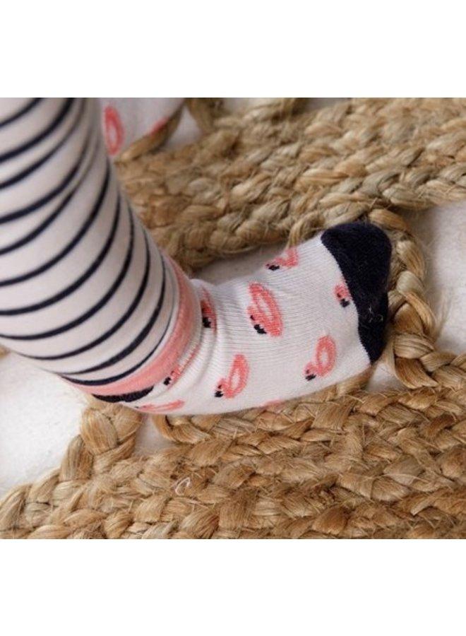 Feetje - Sok Wit - Seaside Kisses