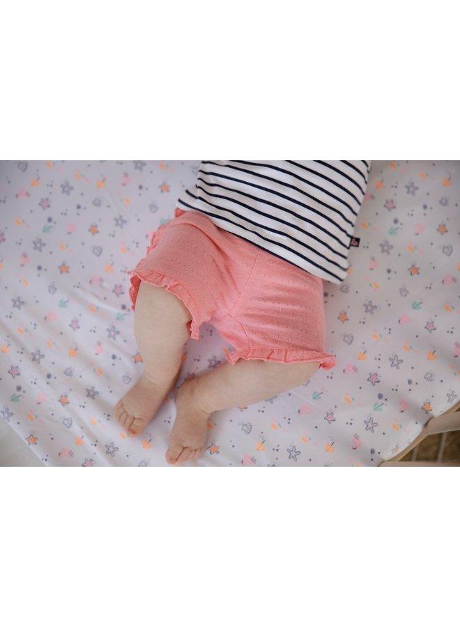 Feetje - Short AOP Roze - Seaside Kisses