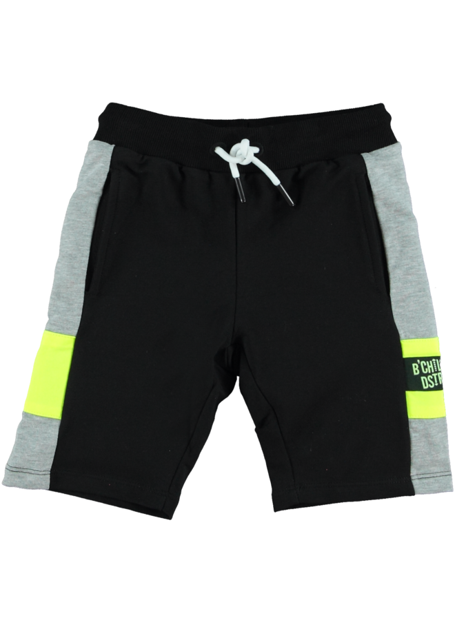 B'Chill - Short Jogpants Gabriël - Black