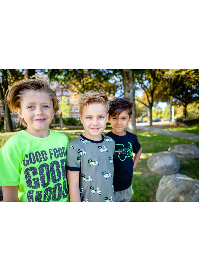 B'Chill - Shirt Finn - Olive green