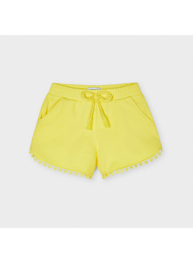 Mayoral - Chenille Shorts - Yellow