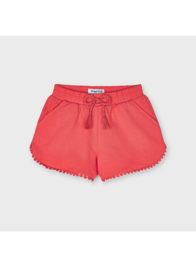 Mayoral - Chenille Shorts - Coral