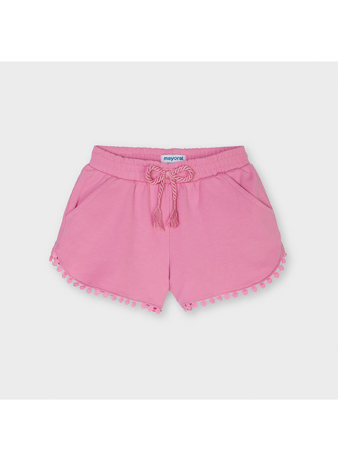 Mayoral - Chenille Shorts - Camellia