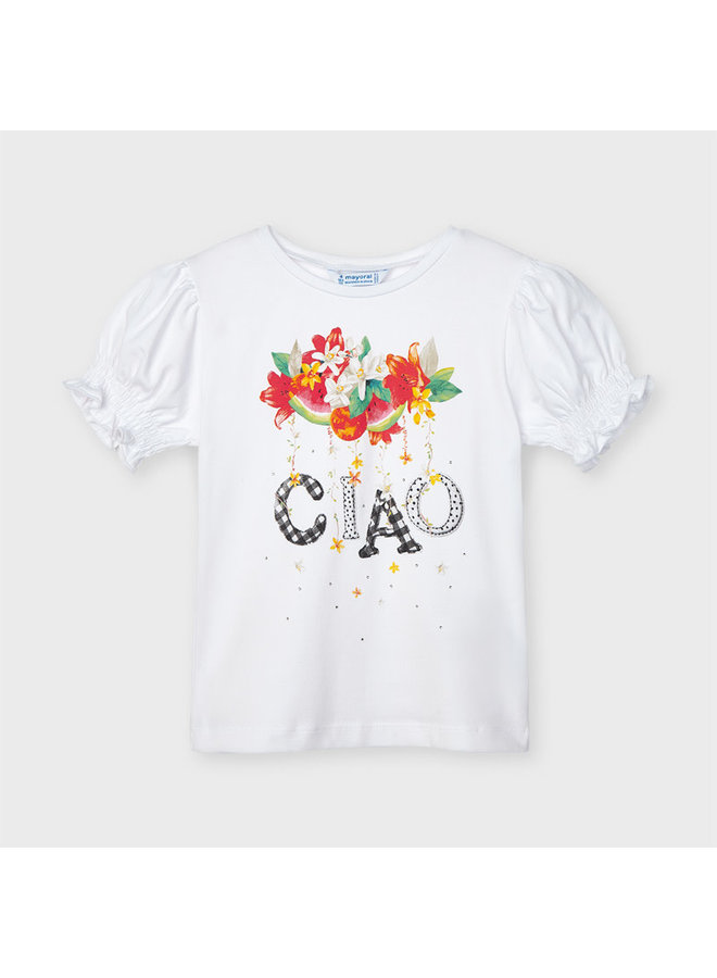 Mayoral - Shirt Ciao - White