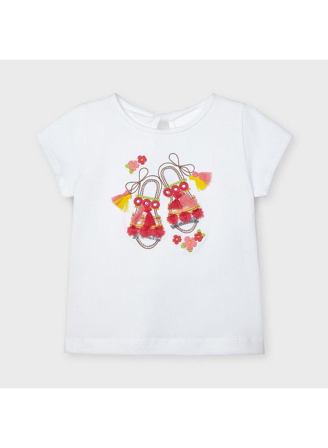 Mayoral - Shirt Summer Shoes - White