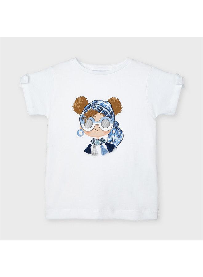 Mayoral - Shirt Doll Sunglasses - White