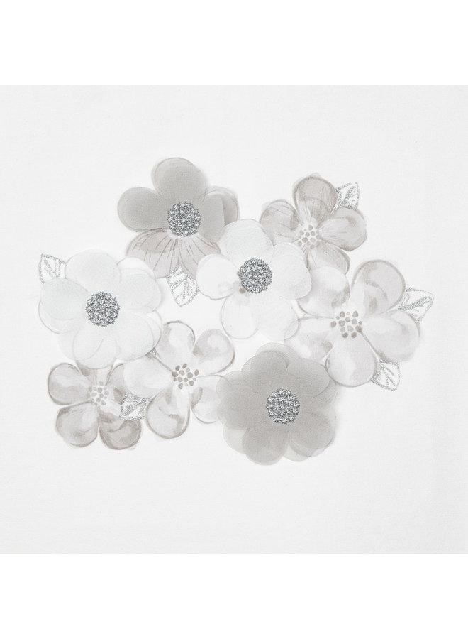Mayoral - Shirt Flowers - Natural