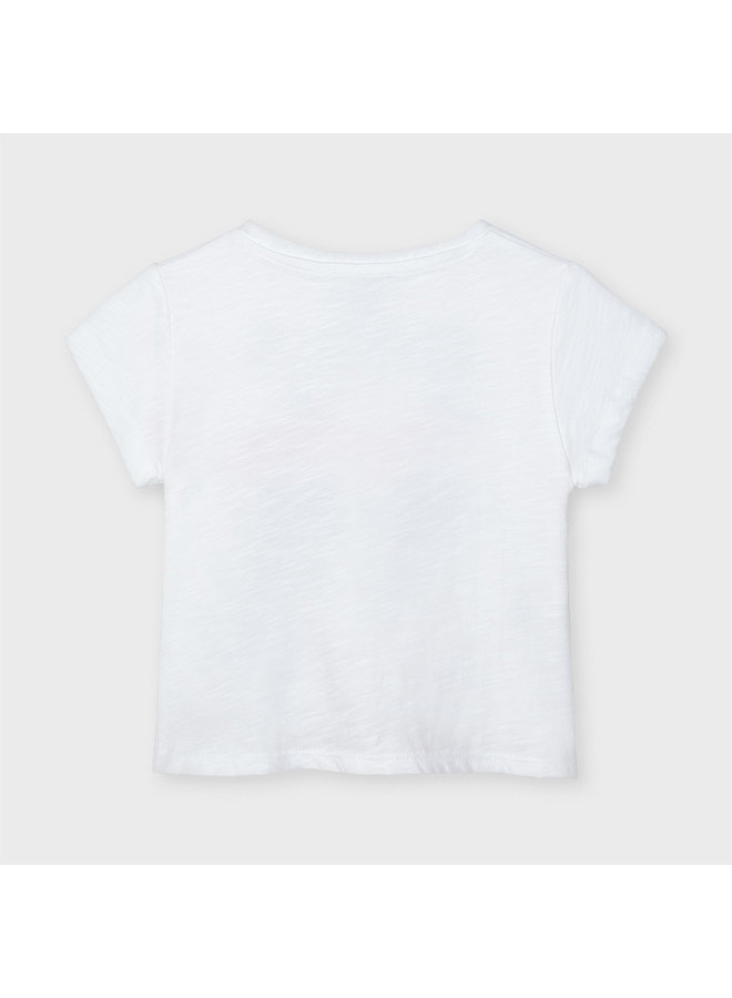 Mayoral - Shirt Super Powers - White