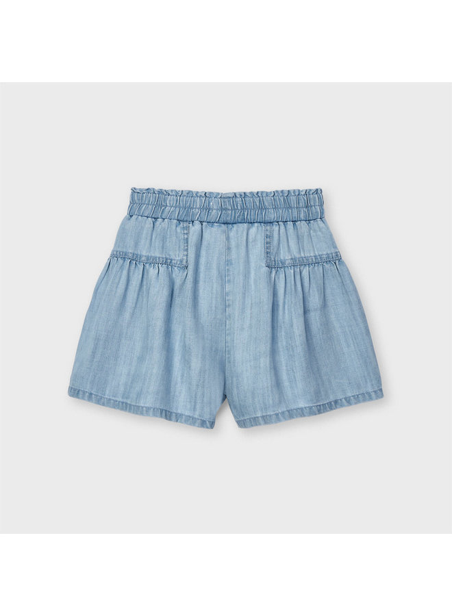 Mayoral - Denim Short Pant - Bleached