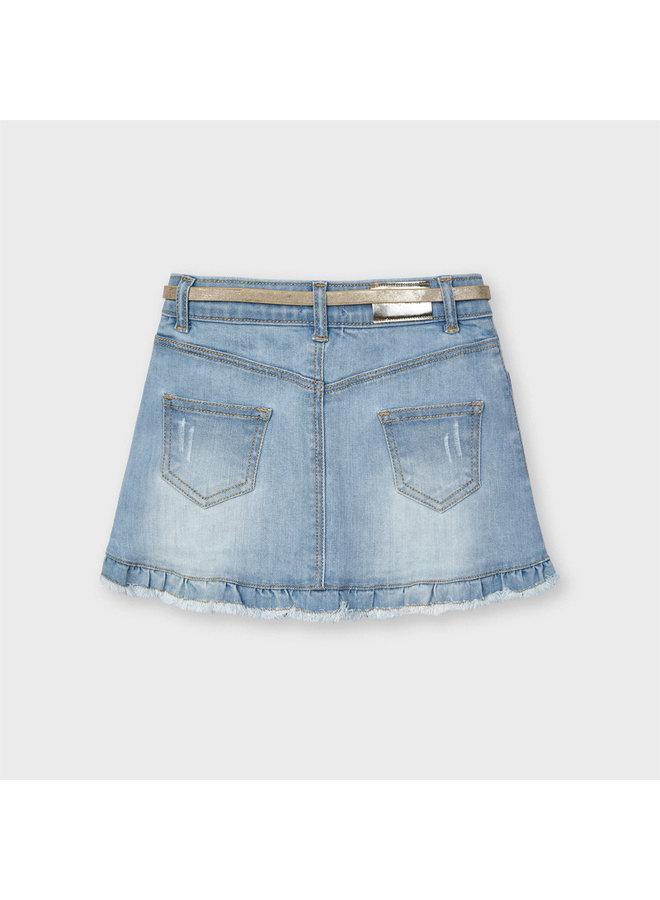 Mayoral - Denim Skirt - Bleached