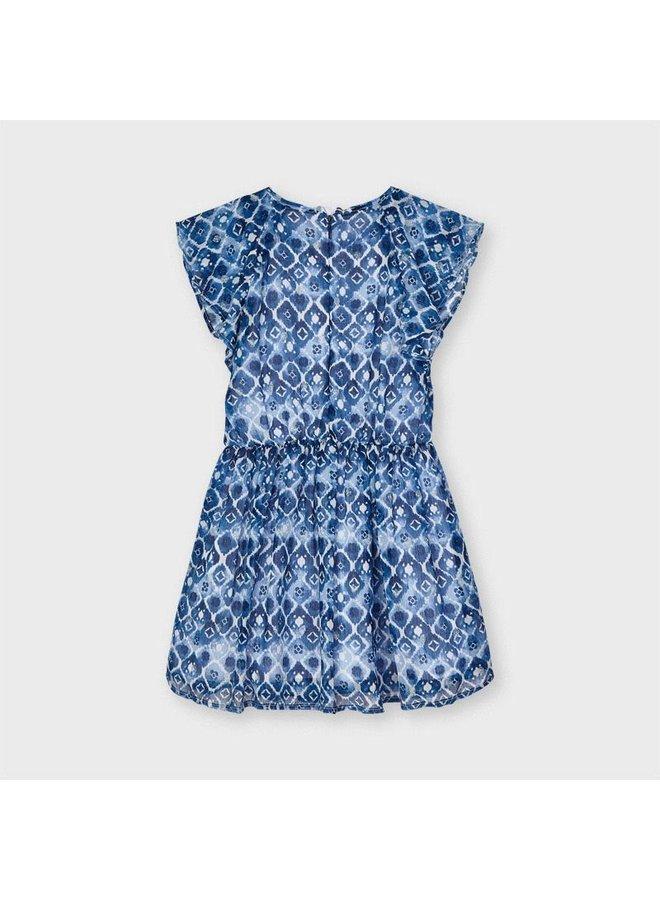 Mayoral - Printed Dress - Ink