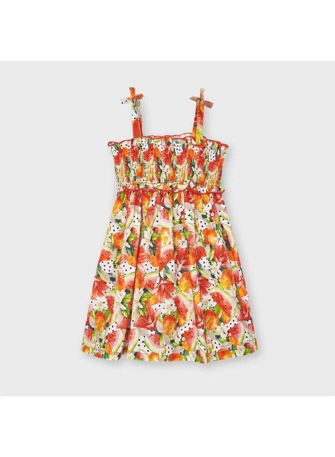 Mayoral - Dress With Smock - Pistachio