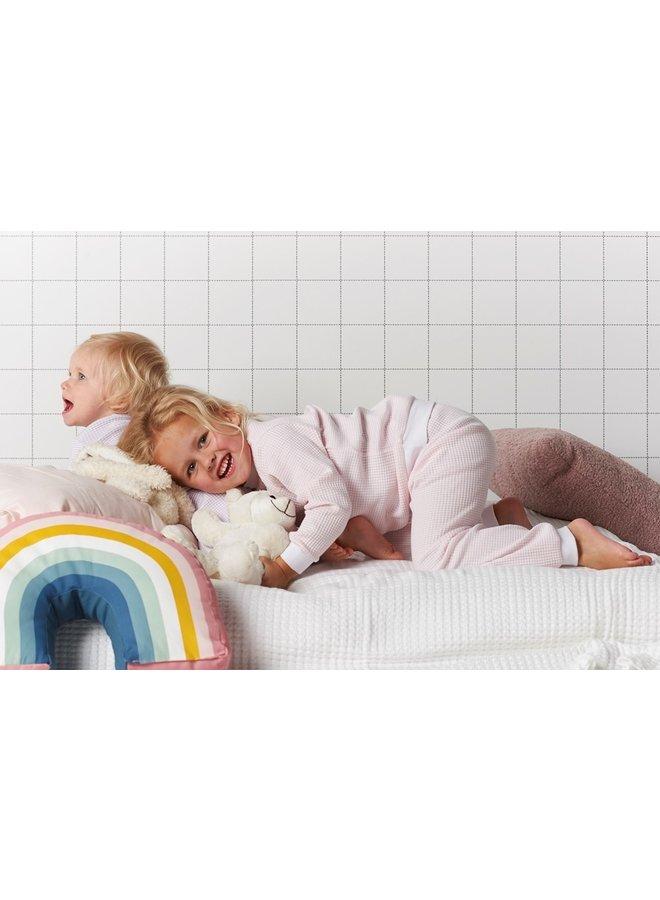 Feetje - Pyjama Wafel - Zalm