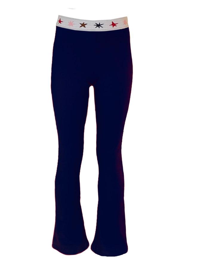 Topitm - Jose Flare Pant - Dark Blue