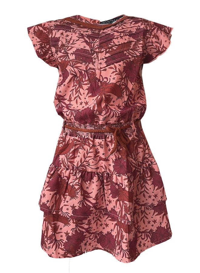 Topitm - Barbara Dress - AOP Flower