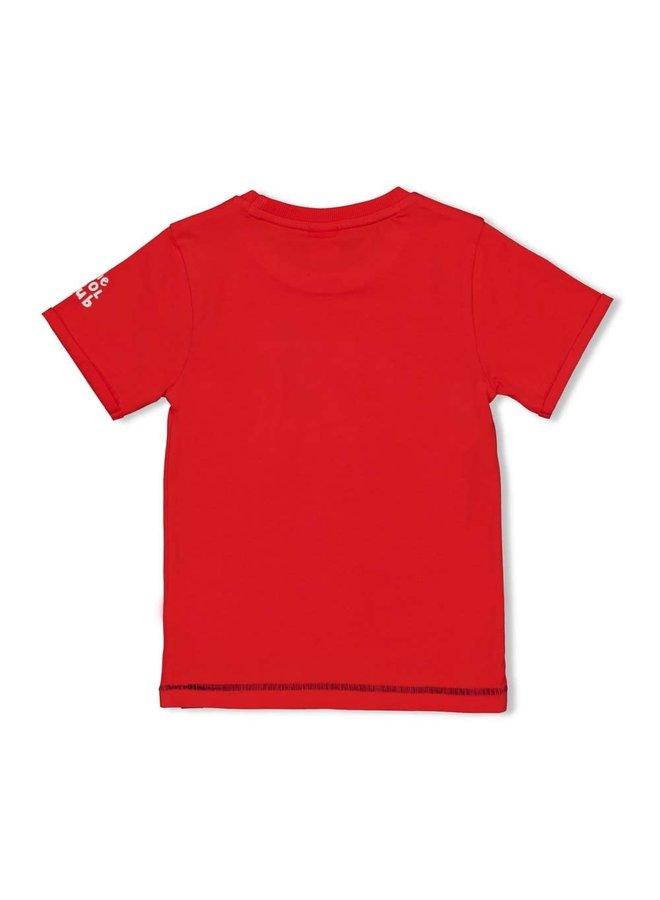 Sturdy - T-shirt Fast Rood - Playground