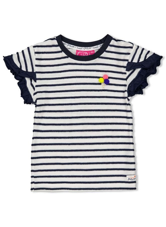 Jubel - T-shirt Streep Marine - Sweet Gelato