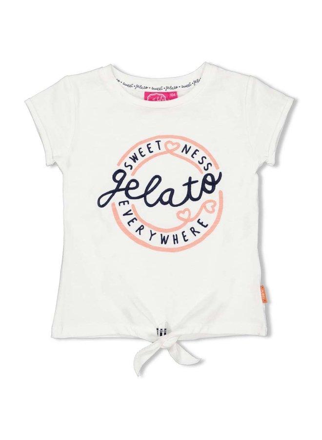 Jubel - T-shirt Gelato Offwhite - Sweet Gelato