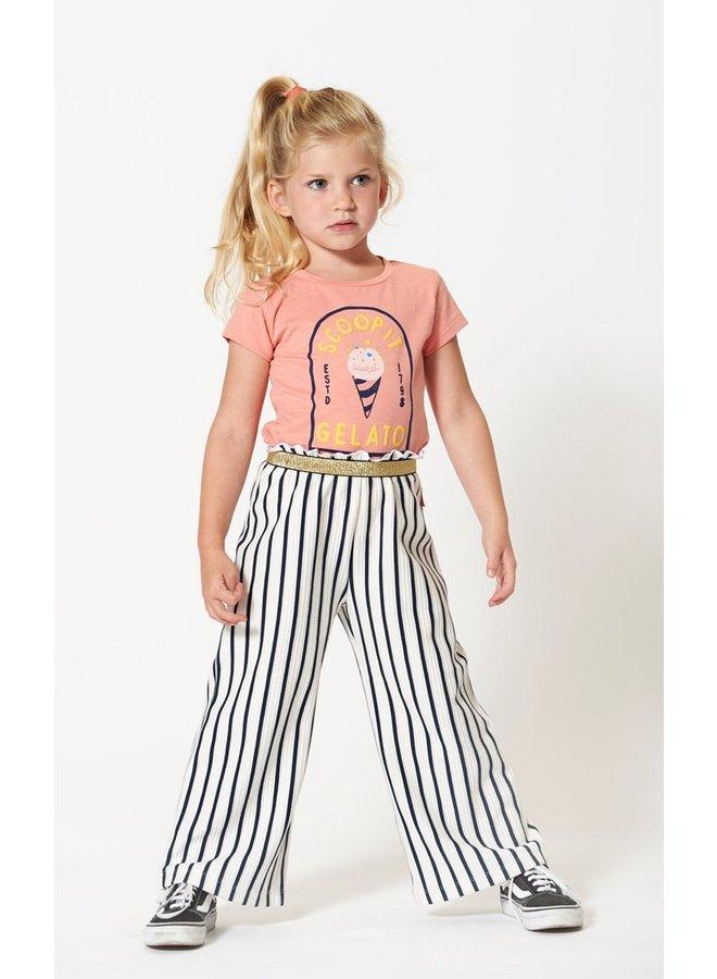 Jubel - T-shirt Gelato Koraal - Sweet Gelato