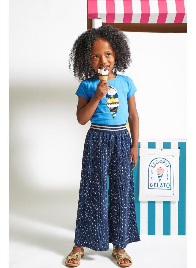 Jubel - T-shirt Blauw - Sweet Gelato