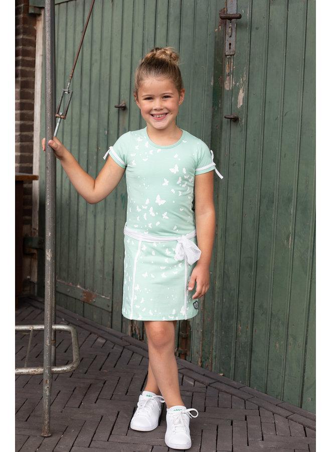LoFff - Fancy Dress Big Bow - Mint