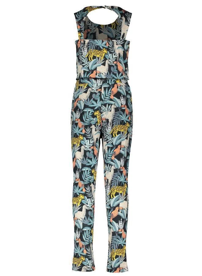 Like Flo - AO Viscose Jersey Jumpsuit Long - Leaf