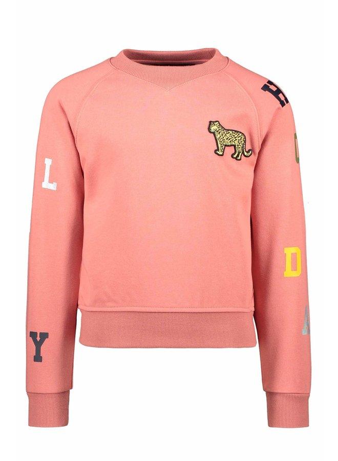 Like Flo - LS Sweater - Blush