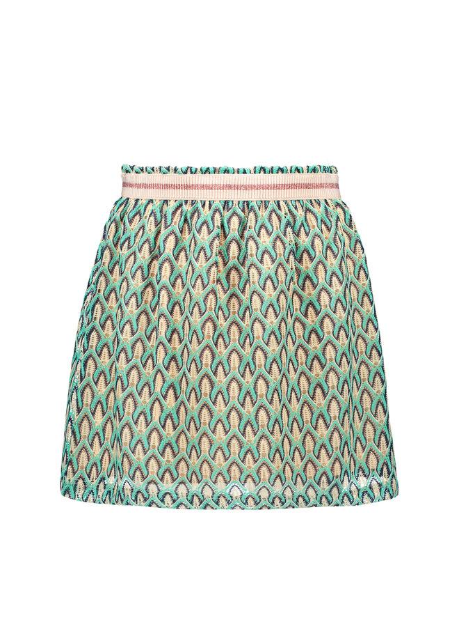 Like Flo - Fancy Lace Skirt - Mint
