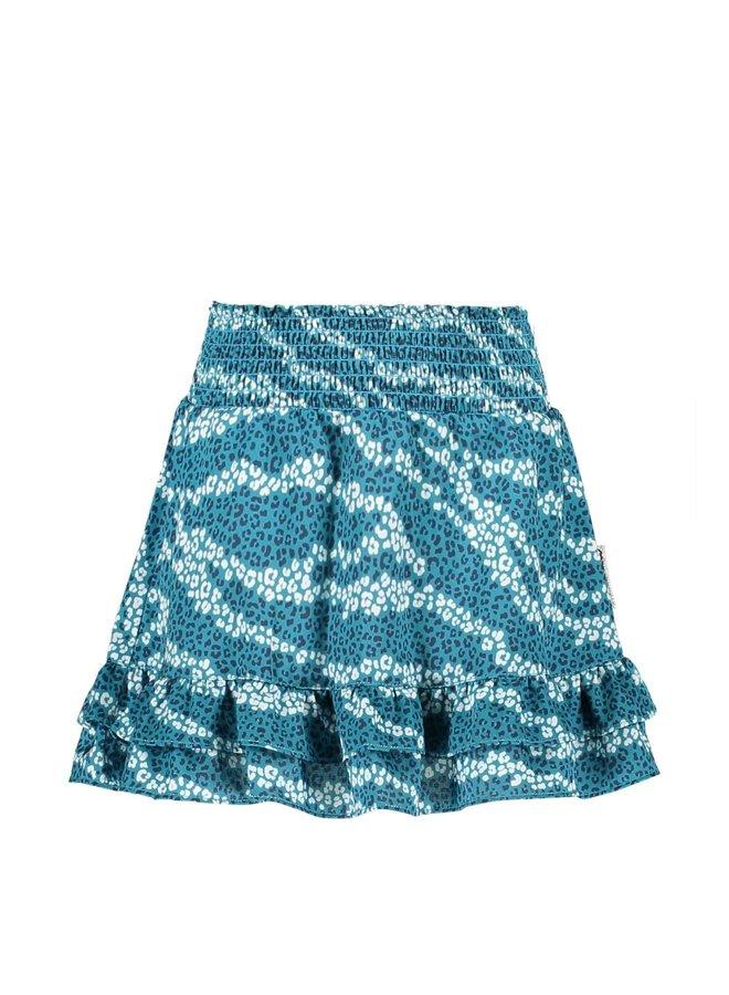 B.Nosy - Skirt With 2 Ruffle Parts On Hem - Good Zebra AO