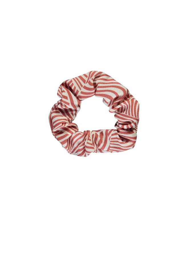 B.Nosy - Woven Scrunchie - Mix Zebra