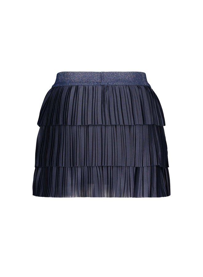 B.Nosy - 3 Layer Plissé Skirt - Space Blue