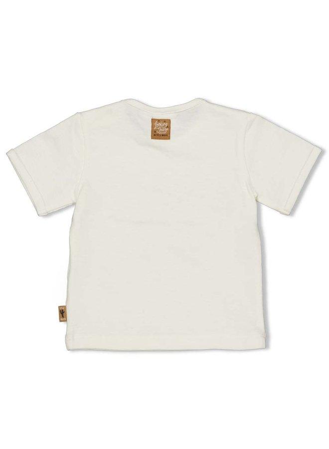 Feetje - T-shirt Offwhite - Looking Sharp