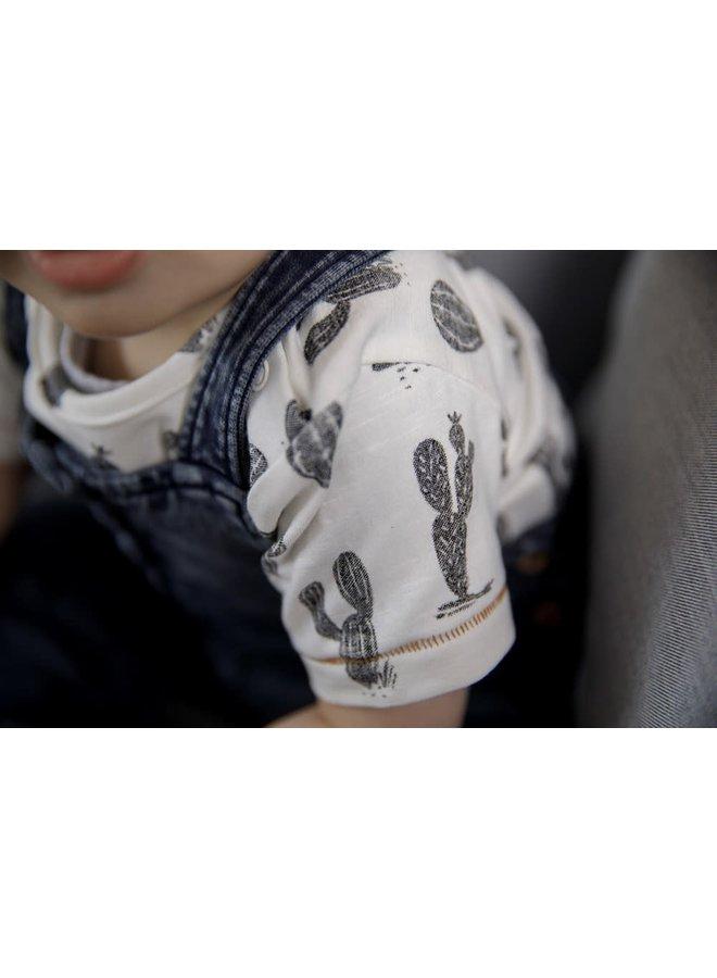 Feetje - T-shirt AOP Offwhite - Looking Sharp