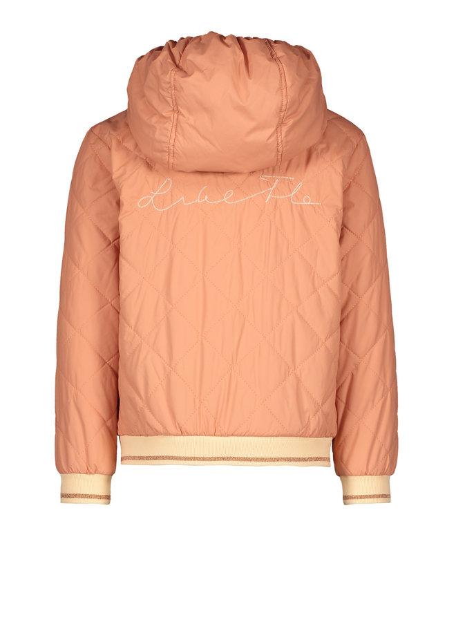 Like Flo - Hooded Summer Jacket - Blush