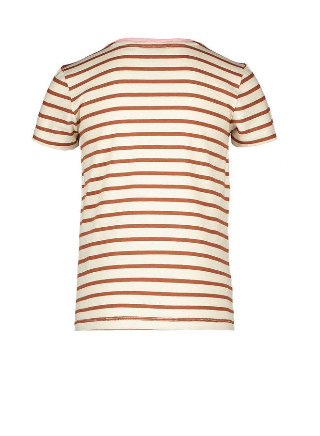 Moodstreet - Fancy Shirt AO Design - Toffee