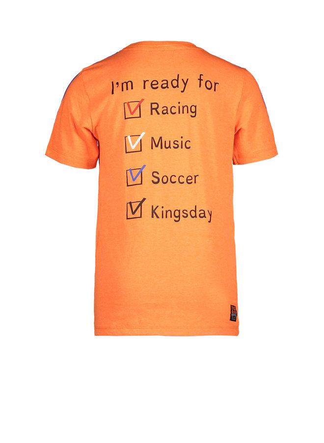 Tygo & vito - Neon Shirt Holland - Shocking Orange