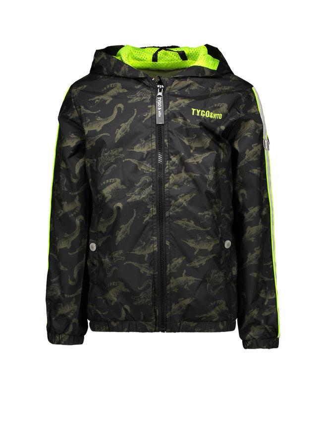 Tygo & vito - Jacket AO Croco - Army