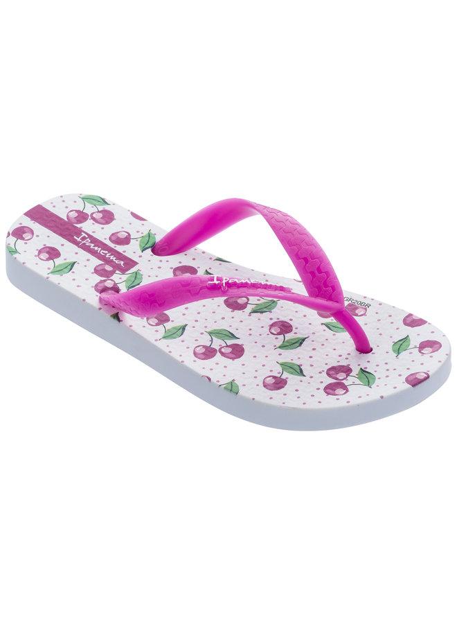 Ipanema Temas Kids - White/Pink