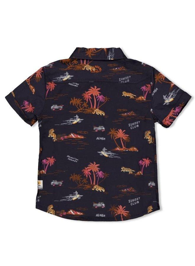 Sturdy - Overhemd Antraciet - Happy Camper
