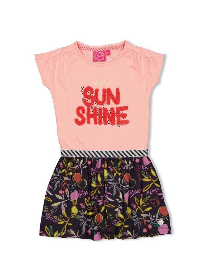 Jubel - Jurk Sunshine Roze - Tutti Frutti