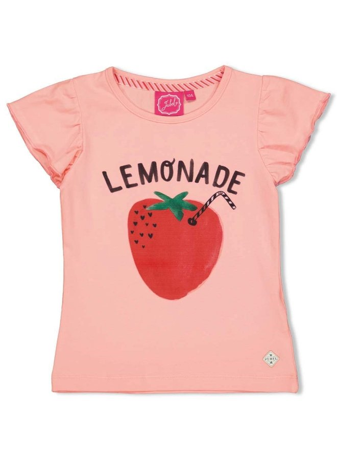 Jubel - T-shirt Lemonade Roze - Tutti Frutti