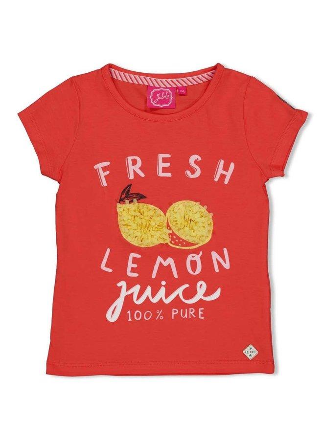 Jubel - T-shirt Fresh Koraal - Tutti Frutti