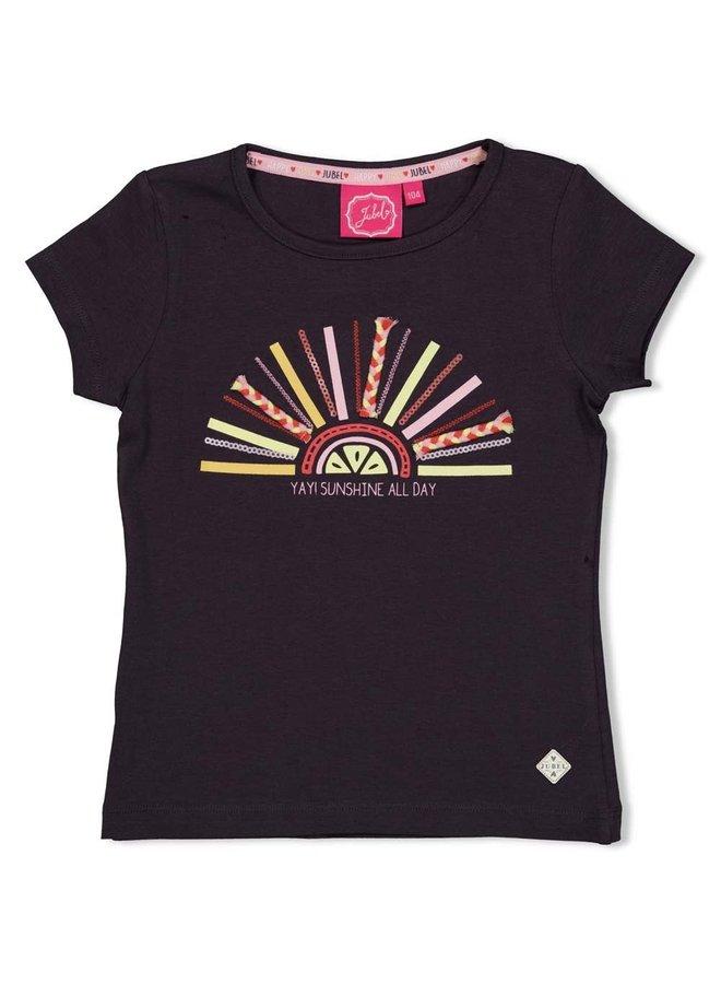 Jubel - T-shirt Antraciet - Tutti Frutti