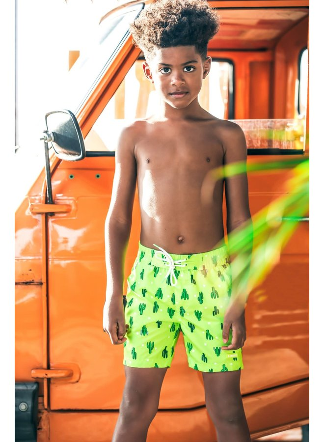 B.Nosy - Swim Shorts Cactus - Safety Yellow