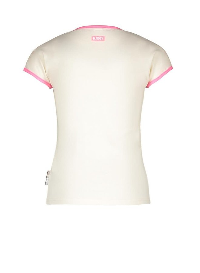 B.Nosy - Shirt With Fancy Chest Artwork - Cotton
