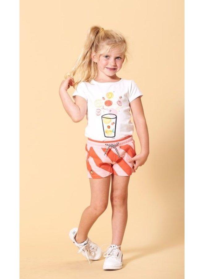 Jubel - T-shirt Wit - Tutti Frutti