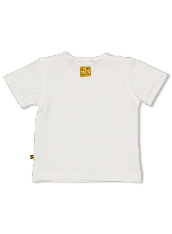 Feetje - T-shirt Offwhite  - Go Wild
